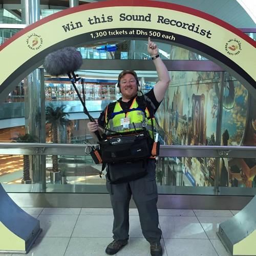David Thirion Sound Recordist